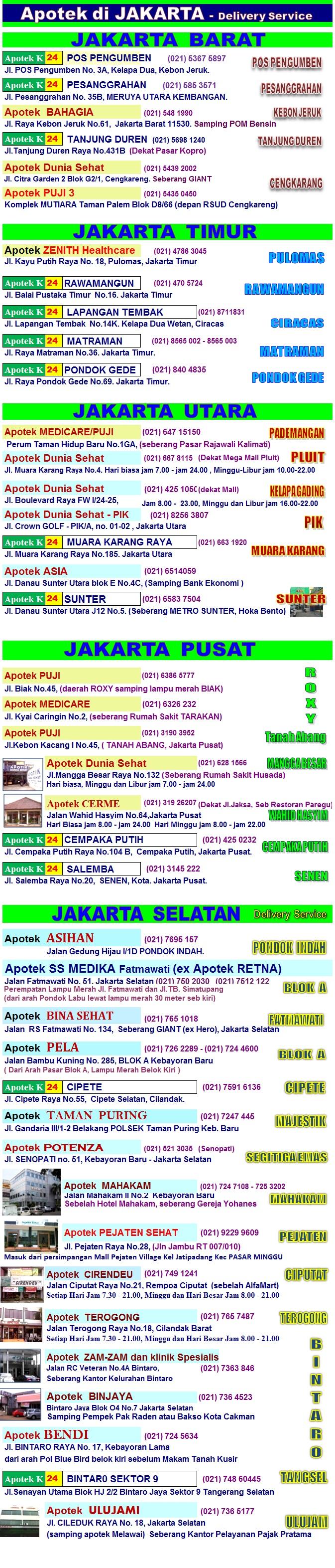 OBAT KUAT di Jakarta apotik resmi. Hati-hati obat PALSU! dari pemeriksaan berkala iklan telah kami cabut dari beberapa apotik yang ternyata menjual barang PALSU. Apotek obat kuat Hp/WA/SMS Jepri 0857 1118 1115