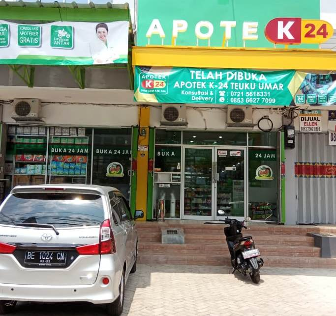 Apotek K24 Teuku Umar - Lampung. Jual obat kuat FOREDI